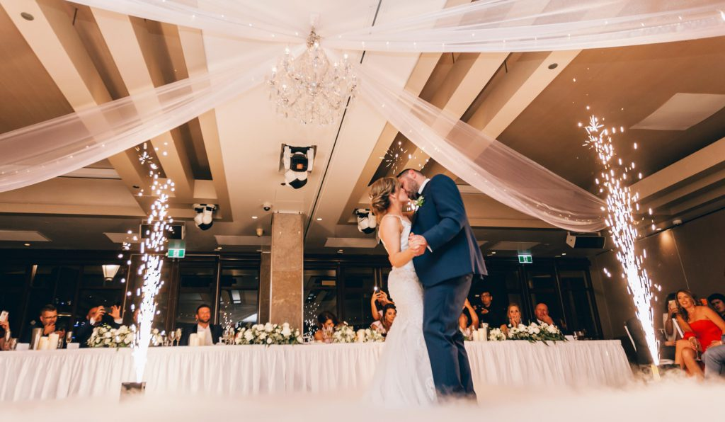 hire a wedding band first dance couple